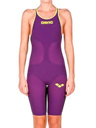 ARENA - Carbon Air open back Plum_Yellow