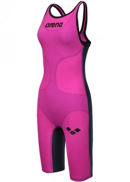 ARENA - Carbon Air open back Fuchsia/Blue-Titanium