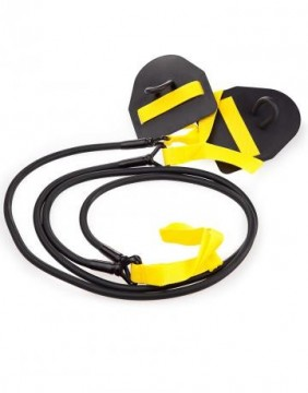 Mad Wave Dry Training Black/Yellow -  motstand 2,2-6,3 kg.