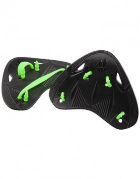 Mad Wave - Finger Paddles, Pro, Black/Green