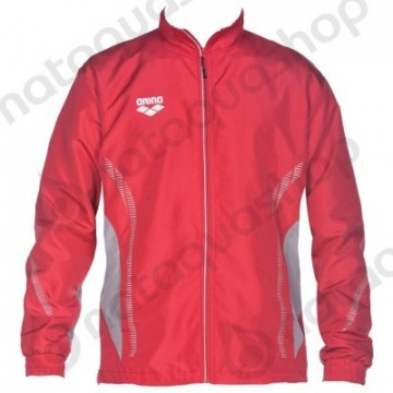 Arena TL Warm Up Jacket - red/grey, unisex