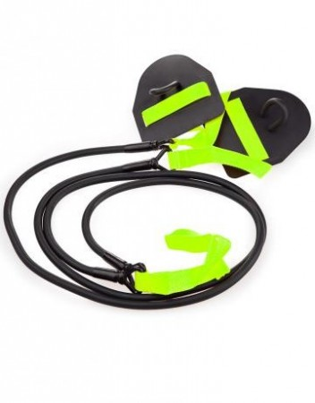 Mad Wave Dry Training Black/Green - motstand 3,6-10,8 kg