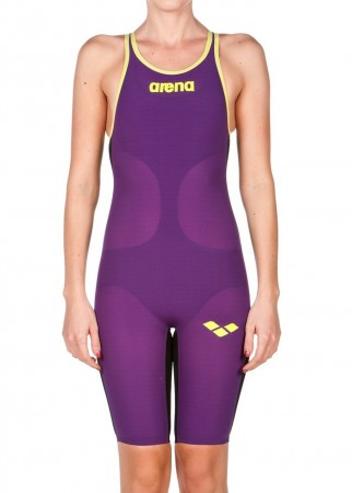 Arena Carbon Air Plum-Fluo Yellow