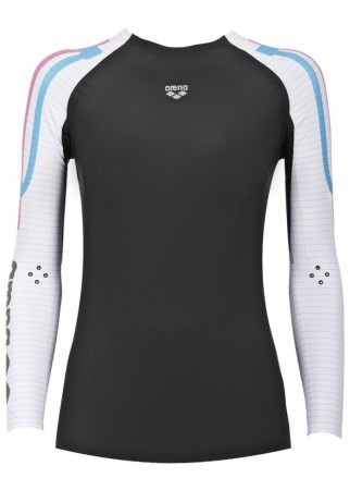 Arena Carbon Compression Lady top
