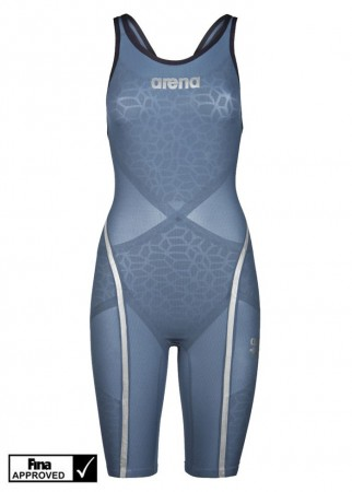 ARENA - Carbon Ultra dame, Bluesteel/Silver