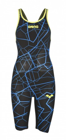 ARENA - Powerskin Carbon Air Limited Edition, Open Back, Black/Bright Blue