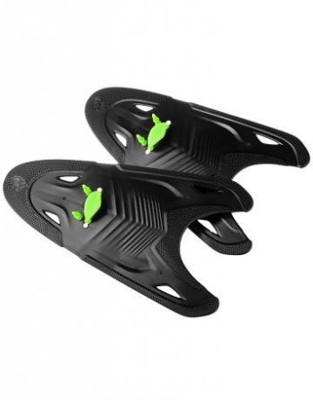 Mad Wave Freestyle paddles Black/Green